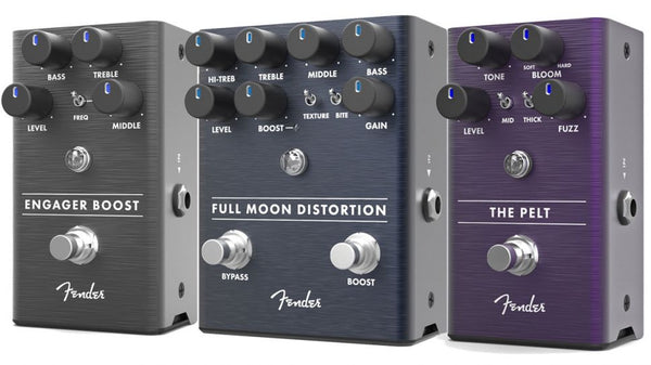 Summer NAMM 2018: Fender Launches a Trio of New Effects Pedals