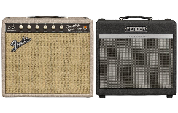 Fender Announces Limited Fawn Tolex Princeton Reverb & Midnight Oil Bassbreaker Amps Pre-Order Now