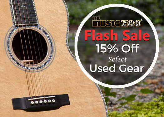 Flash Sale: 15% Off Select Used Gear