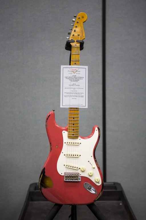 NAMM '15 Fender Custom Shop '59 Strat Heavy Relic Coming To The Zoo