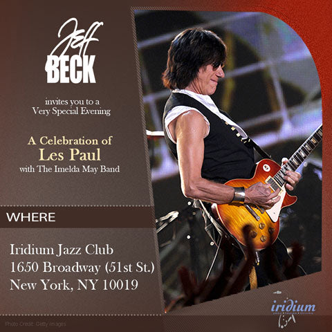 Win Tickets To Jeff Beck's NYC Les Paul Tribute