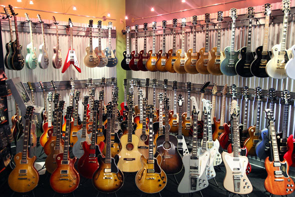 gibsons at The Music Zoo