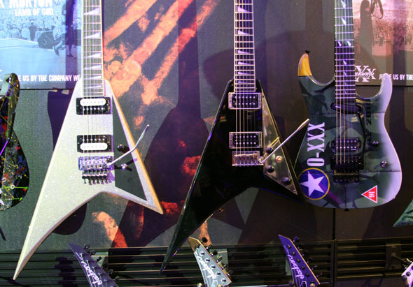 Jackson 30th Anniversary Guitars Spotted At NAMM