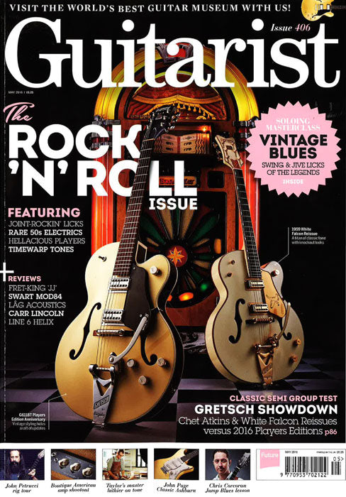 guitarist magazine gretsch