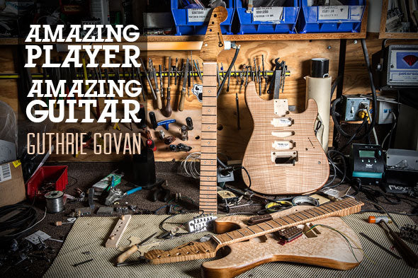 Guthrie Govan Signature Charvel Builder's Diary, Part One