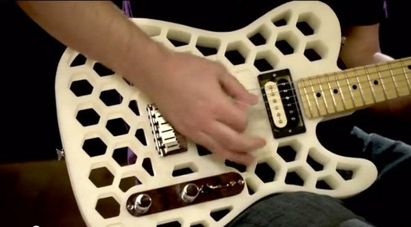 Fender Develops 3-D Printed Stratocaster & Telecaster