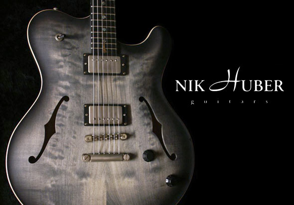 Nik Huber Guitars Coming From NAMM To The Zoo