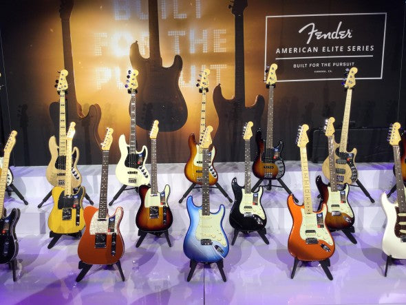 NAMM 2016: New Fender American Elite Series Guitars