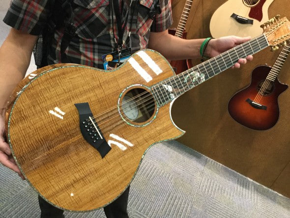 NAMM 2016: New Taylor Guitars Models for 2016!
