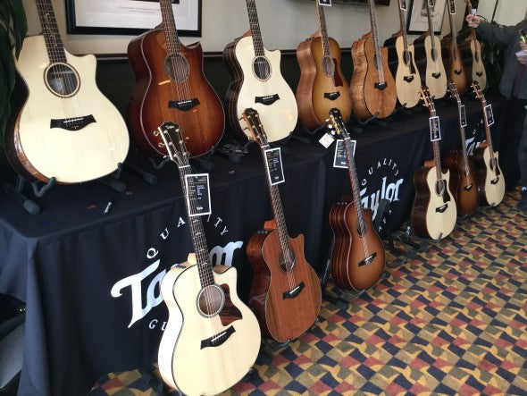 NAMM 2016: Taylor Guitars Exclusive Custom Dealer Event