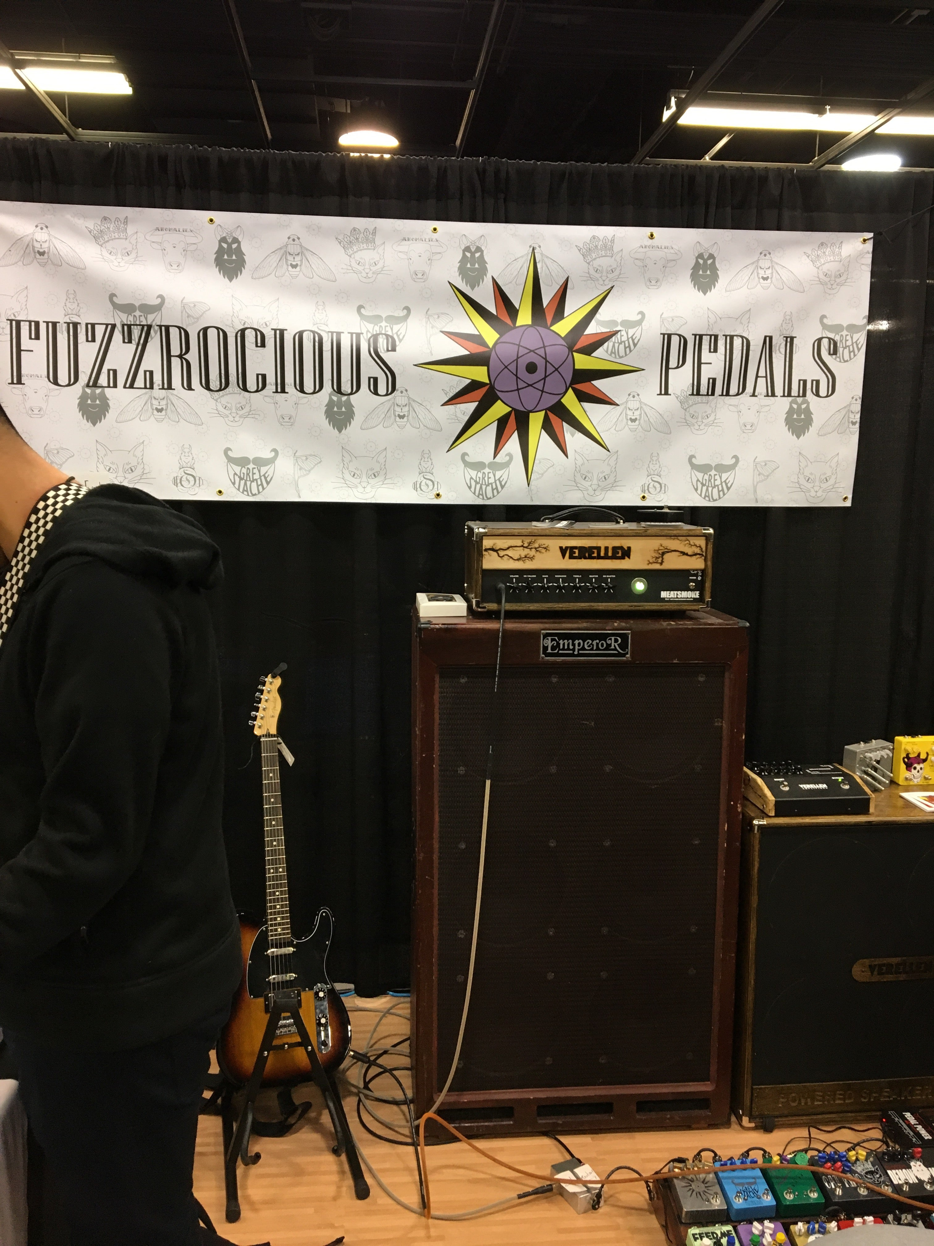 NAMM 2017: New Pedals from Fuzzrocious
