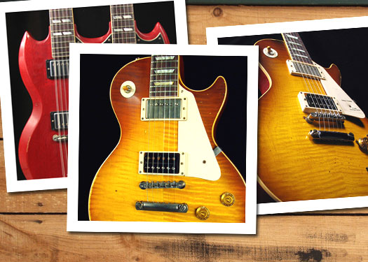 Photo Set: Gibson's Jimmy Page Signature Guitars
