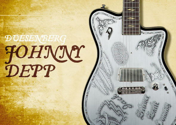 The Johnny Depp Duesenberg Guitar Is Ridiculously Cool