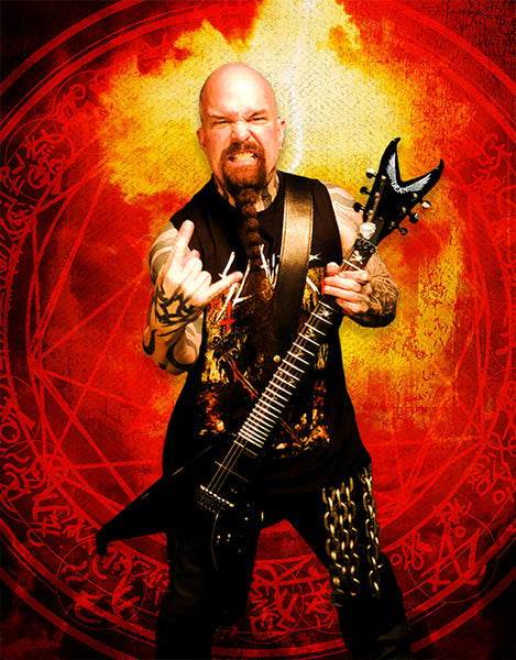 Kerry King and Dean Guitars Announce Artist Models