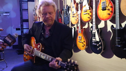 The New Lee Roy Parnell Gibson Les Paul at NAMM 2019!