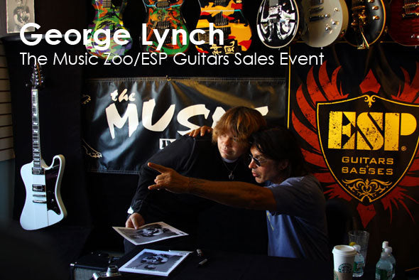 George Lynch Interview And ESP Giveaway