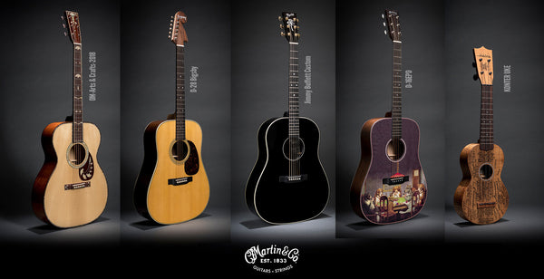 Summer NAMM 2018: New Martin Limited Edition Guitar Models + A Ukulele!
