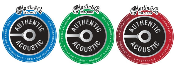 Martin Guitar Introduces New Authentic Acoustic and Darco Series Guitar Strings