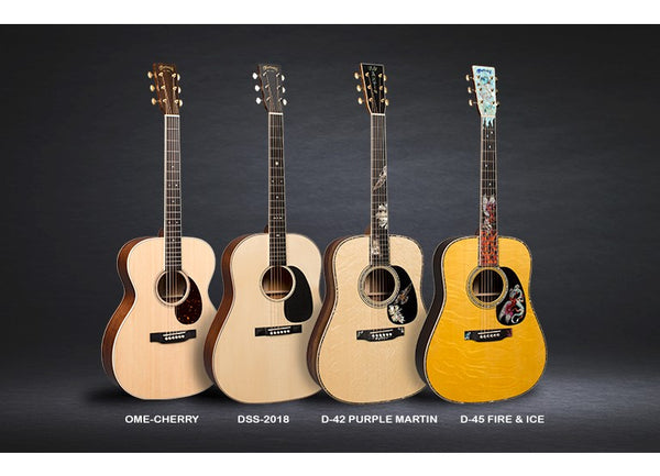 NAMM 2018: New Martin Authentics, Limited Editions, FSC Certified Acoustic Guitar Models!