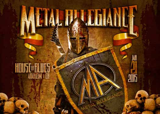 Metal Allegiance: Watch The House Of Blues Concert Live January 21st