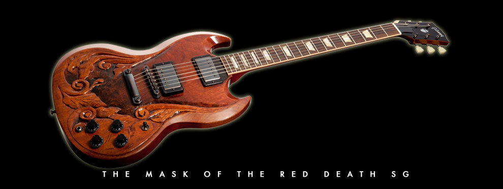 mask of the red death guitar
