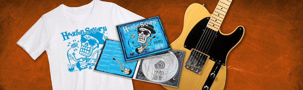 Free Gear Giveaway: Win a Fender '50s Telecaster Plus a T-Shirt and CD Package from Merchly and Disc Makers