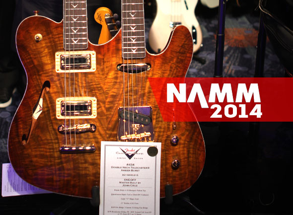 '14 NAMM Show Fenders Coming To The Zoo