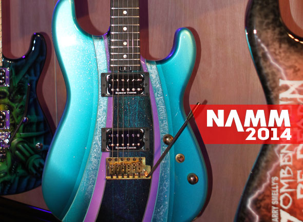 NAMM '14: Custom Charvels Heading To The Zoo