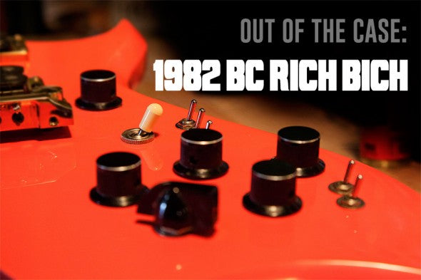 Out Of The Case: 1982 B.C. Rich Bich