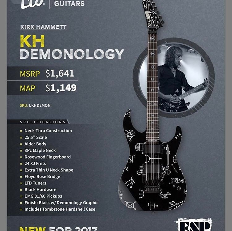 Check Out These Killer New 2014 ESP Guitars | The Music Zoo