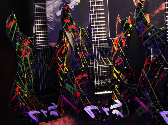 Jackson Limited Phil Collen Hand Painted PC1