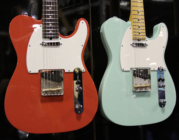 New Suhr Pro Series Guitars: NAMM 2010