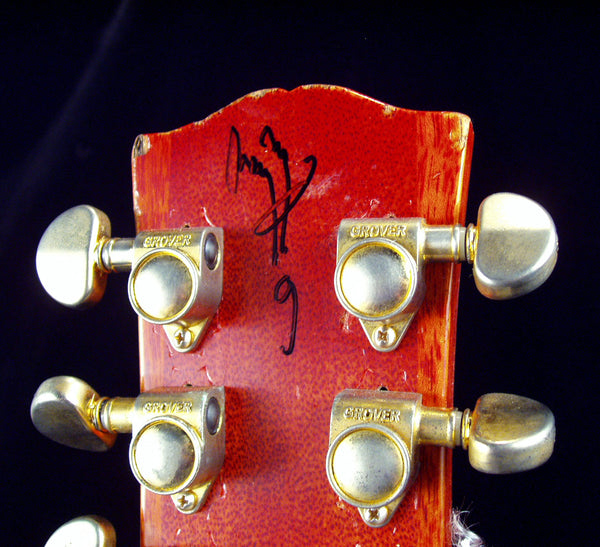 The Original: Jimmy Page Signed Aged Gibson Les Paul #9 of 25 The Music Zoo