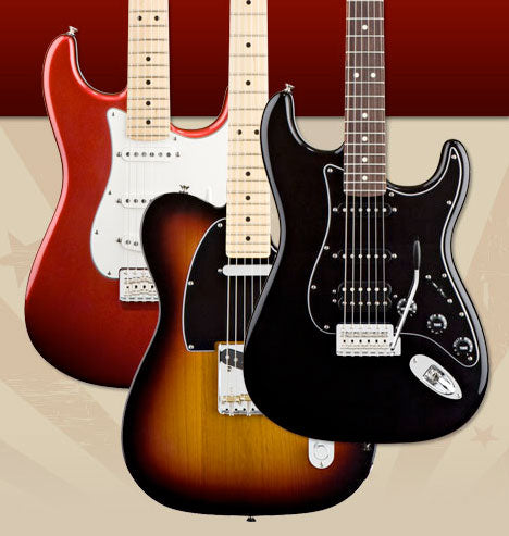 Win A Protoype Fender American Special Guitar