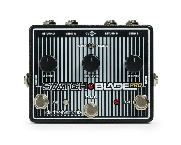 Electro-Harmonix Switchblade Pro Pedal Revealed!