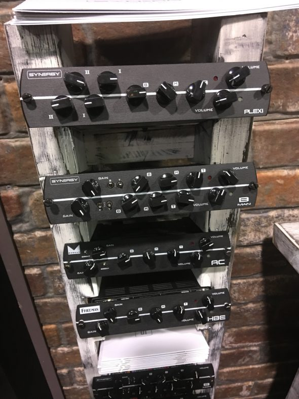 NAMM 2017: Synergy Modular Amplifiers