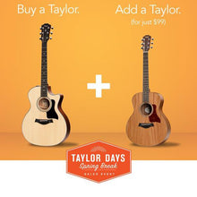 Buy A Taylor Get A Taylor For $99 - The Music Zoo
