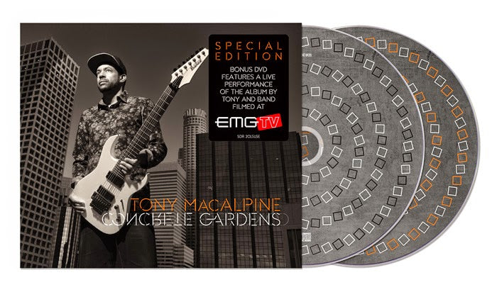 EMG Artist: Tony Macalpine To Release New Studio Album