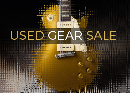Used Gear Sale – Over 200 Guitars Marked Down Now – Save Up To 20%