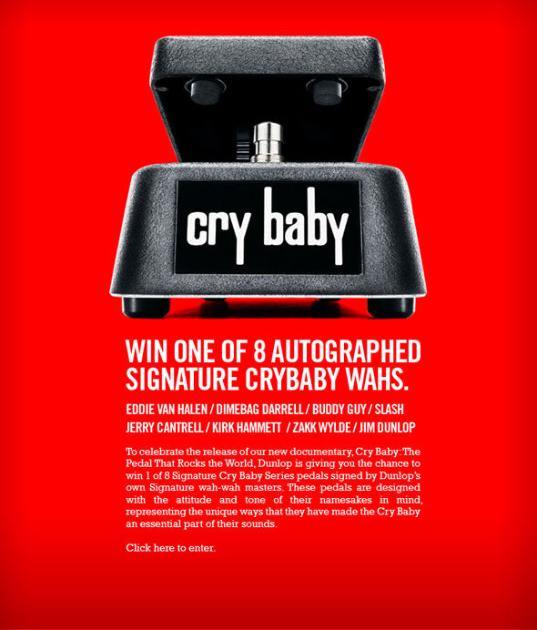 Win Some Slash Pickups Or A Dunlop Crybaby