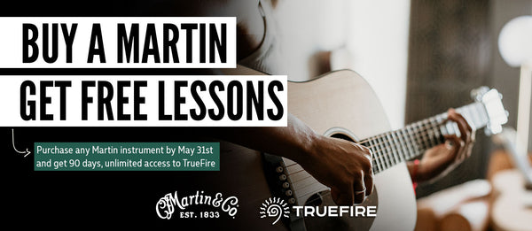 Buy A Martin Guitar Get Free Lessons For Three Months