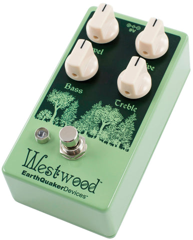 Earthquaker Devices Announces New Westwood Translucent Drive Manipulator + New Pedal Versions