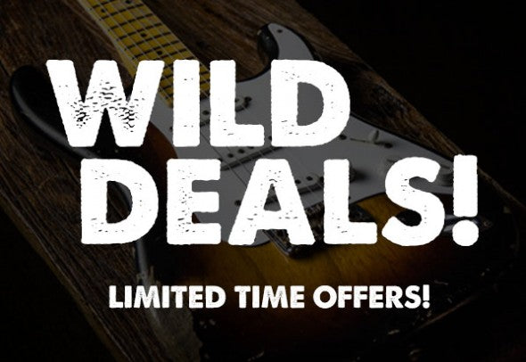 "New! ""WILD DEALS"" Section On Our Website!"