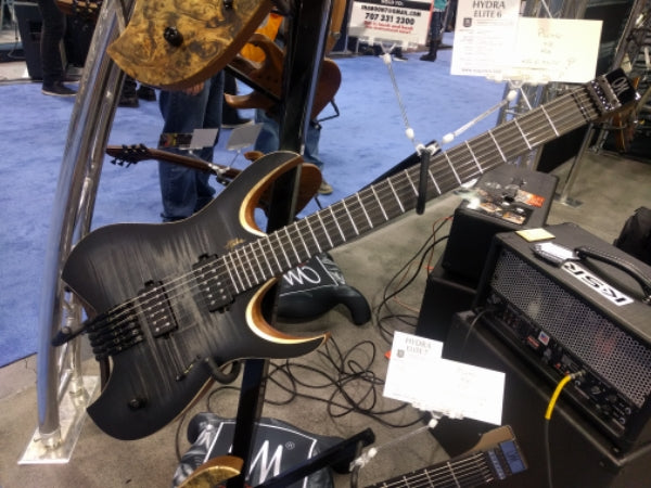 NAMM 2017: New Mayones Hydra Headless Guitars!