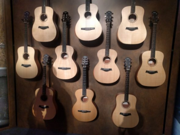 NAMM 2017: New Taylor Acoustic Guitars Models!