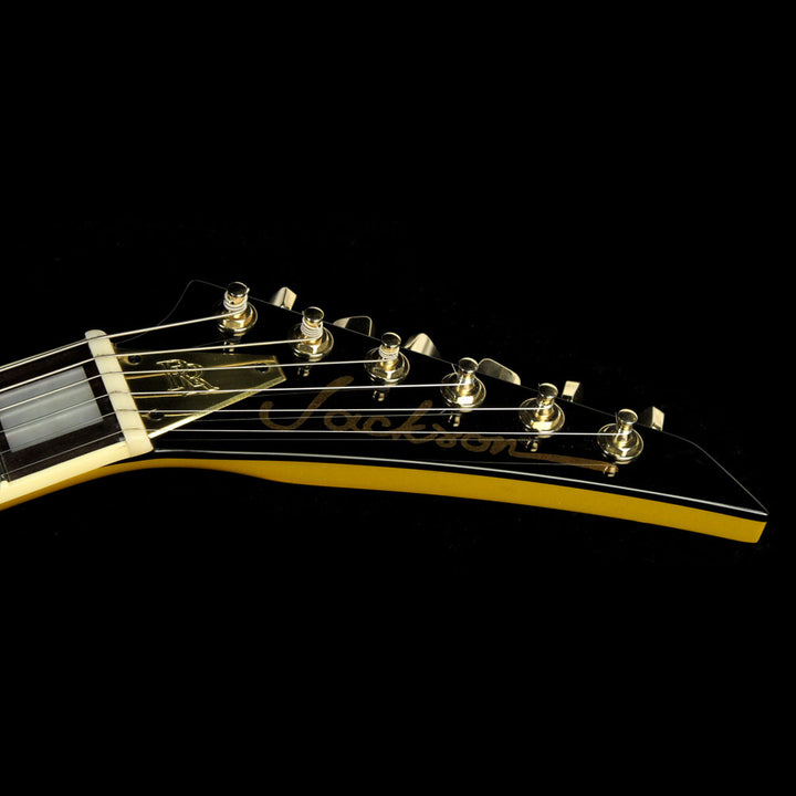 Used 2016 Jackson Custom Shop Exclusive Randy Rhoads RR 1.5 Electric Guitar Gold RR3325