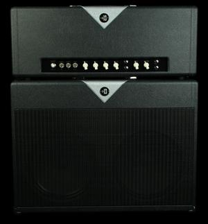 Divided By 13 FTR37 Amplifier Head and Cabinet Black/Silver