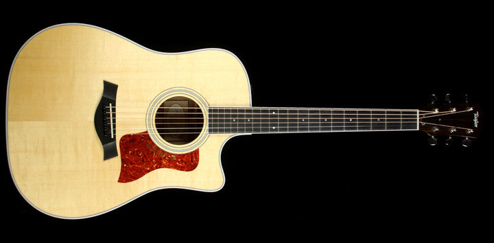 Used 2015 Taylor 410ce Dreadnought Acoustic Guitar Natural 1104235021
