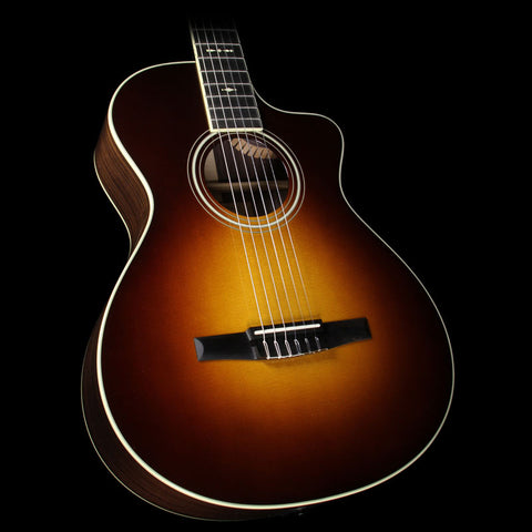 Taylor 712ce-N Grand Concert Nylon String Acoustic/Electric Guitar Tobacco Sunburst
