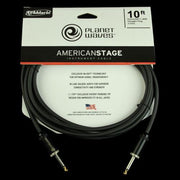 Planet Waves American Stage Instrument Cable (10 Foot)
